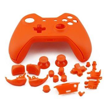 Generic Plastic Protective Case for Microsoft Xbox One Controller - Orange - Intl