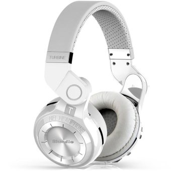 Bluedio T2 Foldable Style Bluetooth V4.1 +EDR Wireless Headset for Smartphone Tablet PC (White) (Intl)