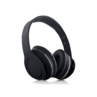 V8800N Foldable Stereo Wireless Bluetooth V4.0 + EDR Headset Headphone NFC Function Multi-point with Mic 3.5mm Cable (Intl)