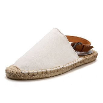 Straw sandals and slippers couple - Intl