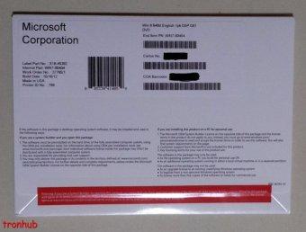 Microsoft Windows 8 Professional OEM 64 bit - Resmi - Segel