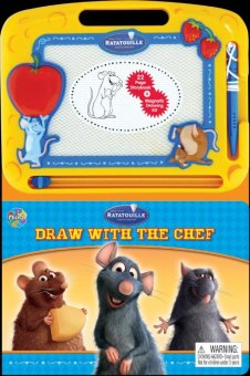 Tiyo Tiyo Books - Learning Series - Disney Pixar Ratatouille Draw With The Chef