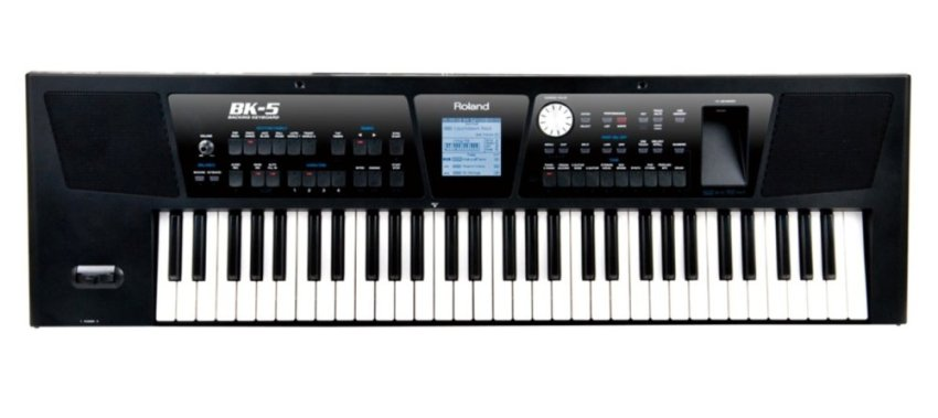harga Roland Keyboard BK-5 Black Lazada.co.id