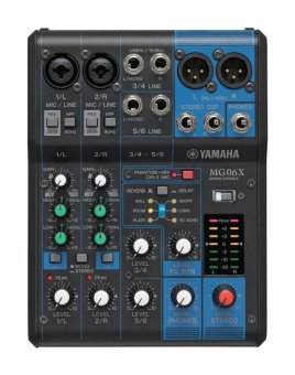harga Yamaha MG06X Analog Mixer 6 Channel - Hitam Lazada.co.id