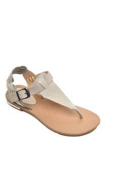 ENMAYER Flat sandals Beige (Intl)