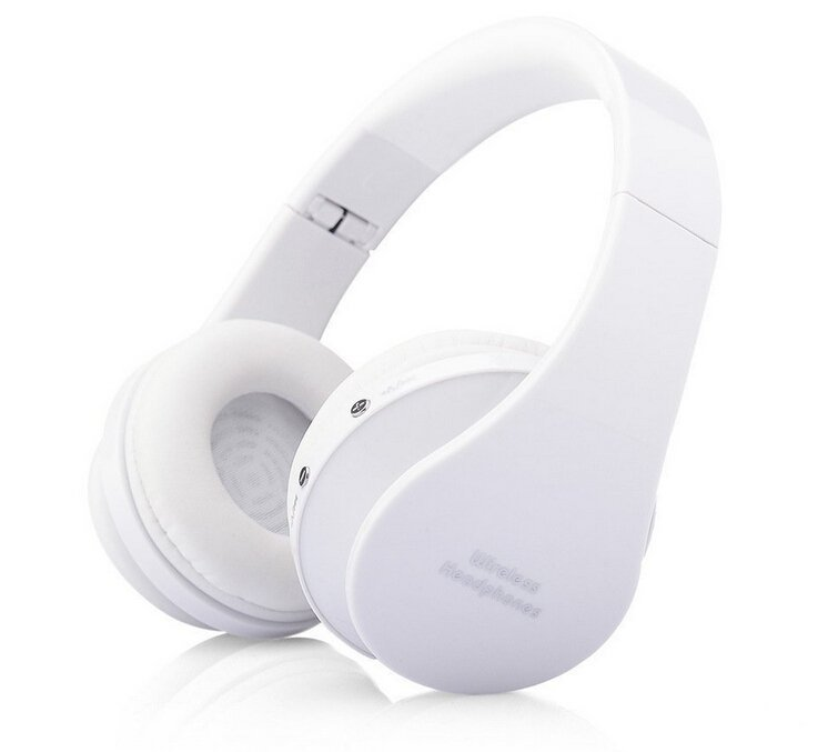 8252 Foldable Wireless Bluetooth Stereo Headphone Headset with Mic for IPhone/IPad/PC New Bluetooth Wireless Stereo Sport Drive Headphone Headset for Mobile PC Tablet (Intl)
