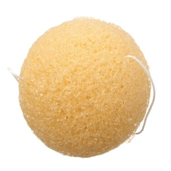 Fashion Natural Konjac Konnyaku Jelly Fiber Face Cleansing Wash Sponge Puff Pad - Intl