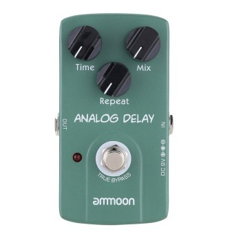 ammoon AP-07 Analog Delay Electric Guitar Effect Pedal True Bypass (Intl)