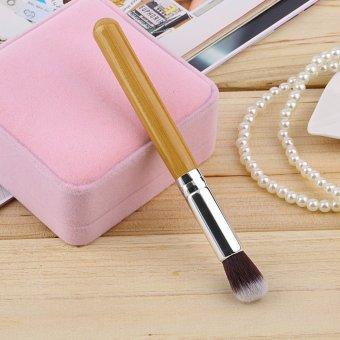 Allwin Bamboo Handle Makeup Brush Cosmetic Brushes Nose Shadow Powder Tool (Intl)