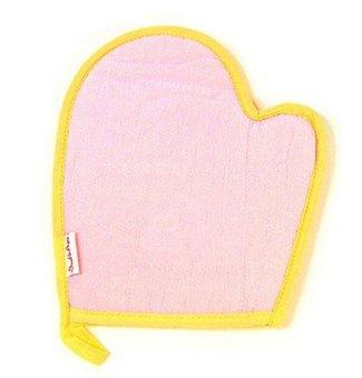 niceEshop Microfiber Palm Shape Bathing Cleaning Sponge Glove Towel