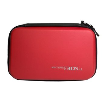 EVA Hard Travel Carry Bag Pouch Sleeve Skin Cover for Nintendo 3DS XL/ LL Red (Intl)
