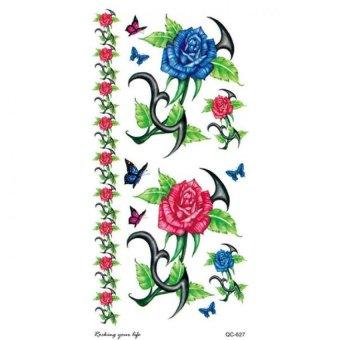 Tatto Fashion Qc-627/New 2016 Popular Flower Temporary Body Tattoo Sticker Fake Tattoo