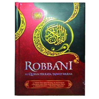Robbani Al-Quran Per Kata - Tajwid Warna