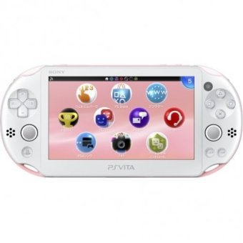 Sony Computer Entertainment Playstation Vita New Slim Model PCH 2006 - Light Pink White