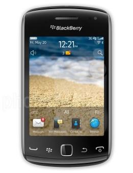 Refurbished Blackberry 9380 Orlando 512MB - Hitam - Grade C
