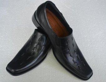 Crocodile Sepatu Kerja Pantofel Pria Kulit Asli SPKA-004