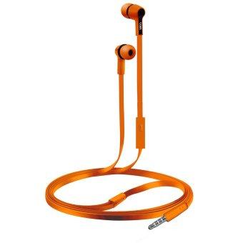 COBY CV-E111ORG Earbuds w/Mic Headphones CVE111 (Orange) (Intl)