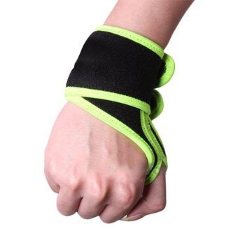 Sports Wrist Thumb Brace Support Protector Wrap Band Elastic (Intl)