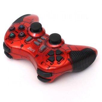 M-Tech Gamepad Wireless Turbo - Merah