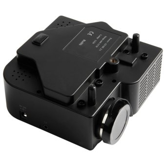 Mini Portable LED Projector (Black) - Intl