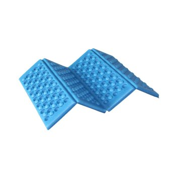Outdoor waterproof folding Moistureproof Massage cushion (Blue)