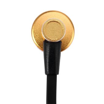Awei ES - 900i Noise Isolation In-ear Earphone with 1.2m Cable Mic for Smartphone Tablet PC (Gold) (Intl)