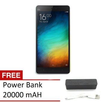 Xiaomi Mi 4i - 16GB - Putih + Gratis Power Bank 20000mAH