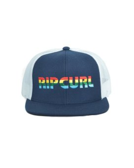 Rip Curl Power Of The Logos Trucker Men Cap - Biru