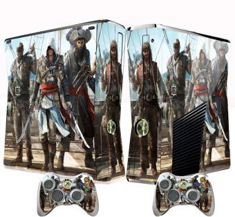Assassin Skin Sticker For Xbox 360 Slim Console + Controller Vinyl Decal (Intl)