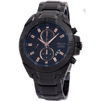 harga Alexandre Christie – chronograph - Jam Tangan Pria – AC927G Hitam Lazada.co.id