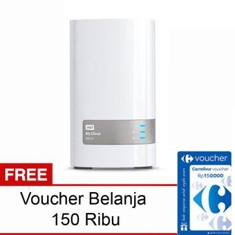WD My Cloud Mirror - 8TB + Gratis Voucher Belanja 150Rb