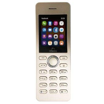 iCherry C206 Fashion - Dual SIM - Emas