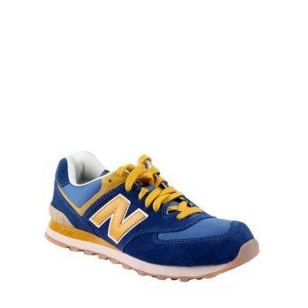 harga New Balance Classic 574 Men's Shoes - Blue Lazada.co.id