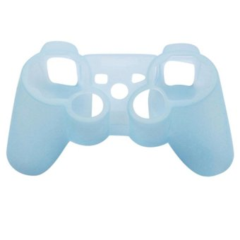 Silicone Protective Case Cover for Playstation 3 (Blue) - Intl