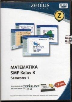 Zenius Set CD SMP Matematika kelas 8 semester 1