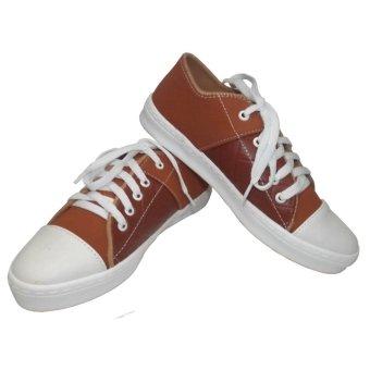 harga SHOES Sepatu Sneakers Skate Sport Wanita Warna Tan 18 Lazada.co.id