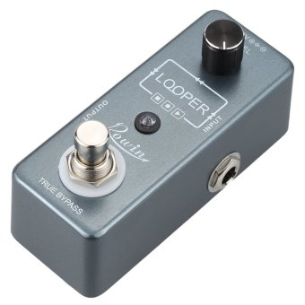 Rowin Loop Mini Electric Guitar Effect Pedal USB Cable Software & 10 Minutes Recording Single Effect (Intl)