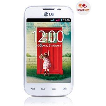 LG L40 Dual Sim - White - Bonus Jelly Skin