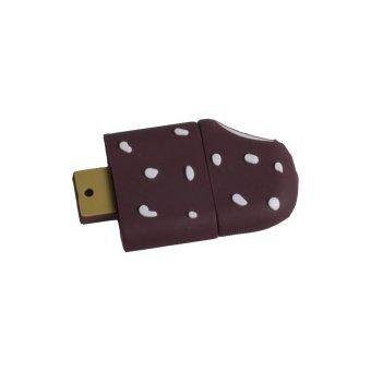Incipient Cute Chocolate Ice Cream Design 8GB Flash Drive (Brown)