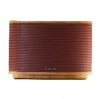 Auluxe Aurora Wood AW1010W SPEAKER - Merah