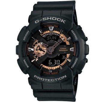 harga Casio G-Shock GA-110RG-1A - Hitam Lazada.co.id