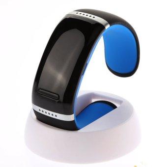 JF Bluetooth Wrist Smart Bracelet Watch Phone for Smartphone(Blue)