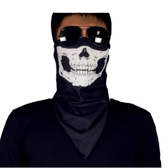 Comfortable Stylish Call of Duty Neck Warmer Fishing Motorcycle Cycling Skiing Outdoor Sports Flexible Face Mask (As Pictures)