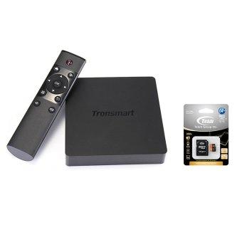 Tronsmart Orion R68 Meta Android TV Box Bundling Team Micro SD UHS-1 64GB