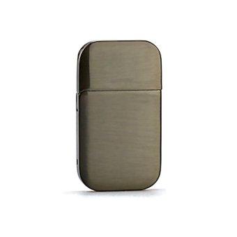 HKS Electronic USB mini portable Cigarettes Cigarette Lighter Flameless (Grey) - Intl