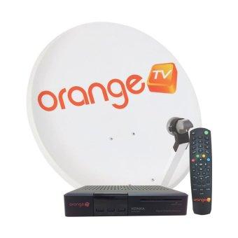 Orange TV Perangkat KU Band Prepaid - Hitam