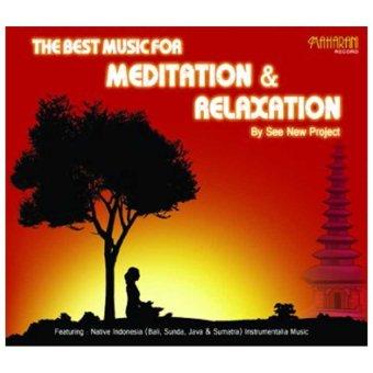 Maharani Record - The Best Meditation & Relaxation - Music CD