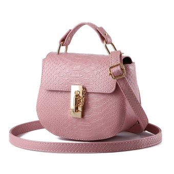 Women Messenger Bags Crossbody Bags Leather Shoulder Bag Handbags powder - Intl