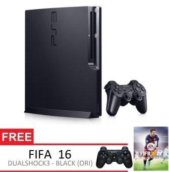 Sony Playstation 3 Slim 160GB + Gratis Extra PS3 Controller + FIFA 16