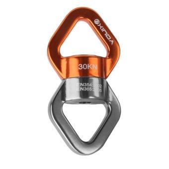 RIS Rope Swivel Connector Full Bearings Rock Climbing Rope Accessory 30KN Orange (Intl)